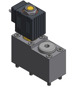 New By-Pass Valve Without relief valve