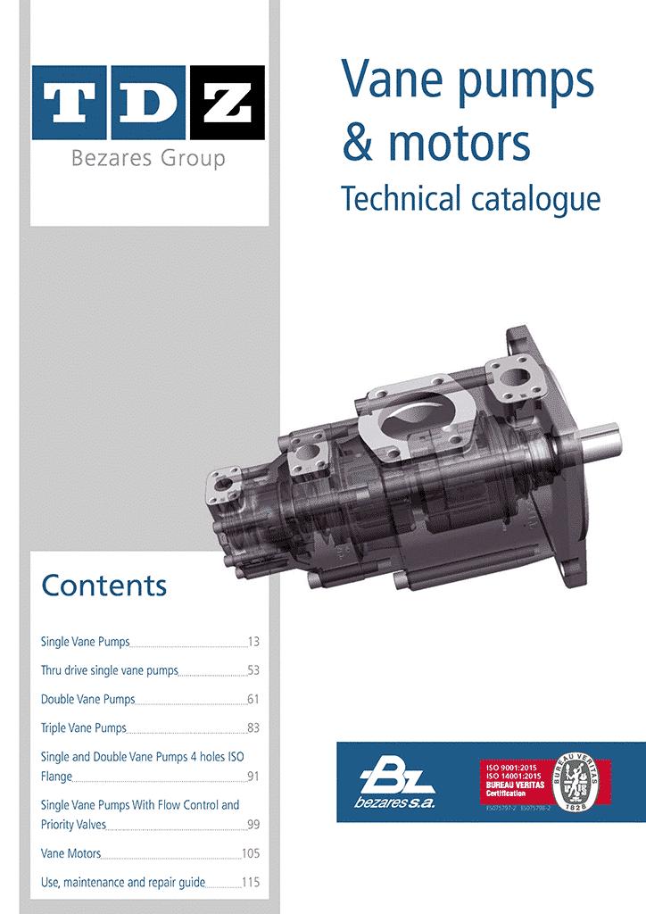Vane pumps and motors calatog – TDZ