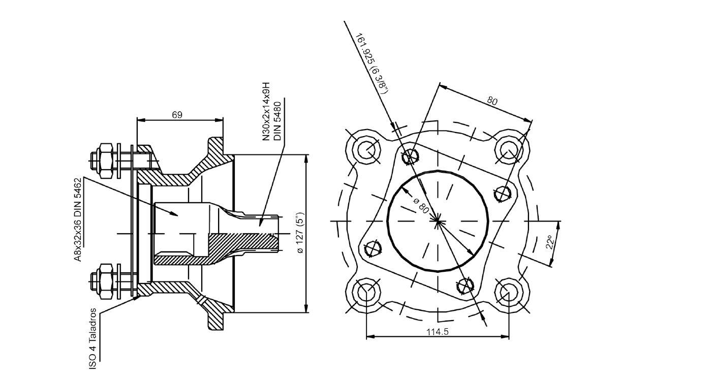 Soporte para herramientas y botiquín Unimog 421,406,403,407 MB Trac 441,442,443,