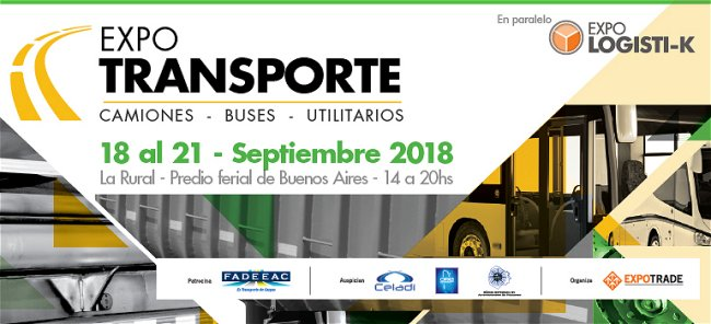 Bezares & Sabbatini at the Expo Transporte 2018 – Argentina