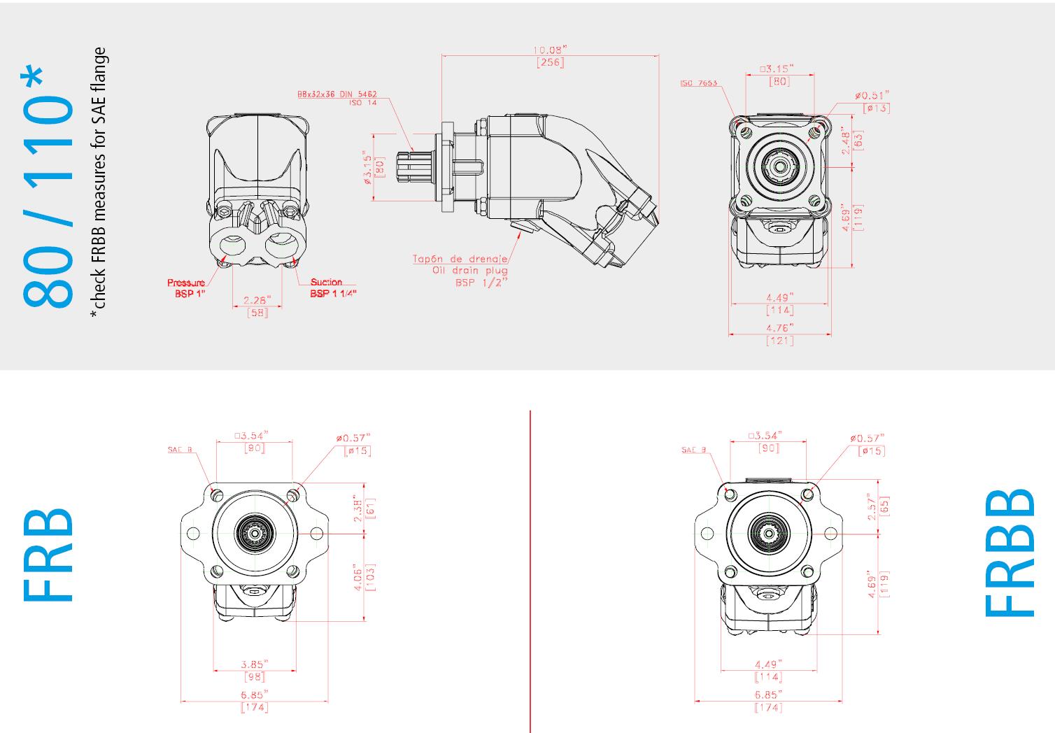 FR Bent-Axis Piston Pump instructions - Bezares SA