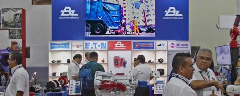Participación de Bezares en Expo Proveedores del Transporte