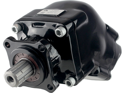 FR2 New twin-flow bent-axis piston pumps