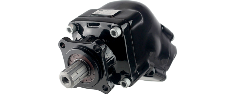 FR2 New twin-flow bent-axis piston pumps