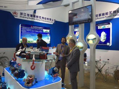 2016年浙江佰事瑞帕瓦参加了上海的Bauma展(中国国际工程机械、建材机械、矿山机械、工程车辆及设备博览会)