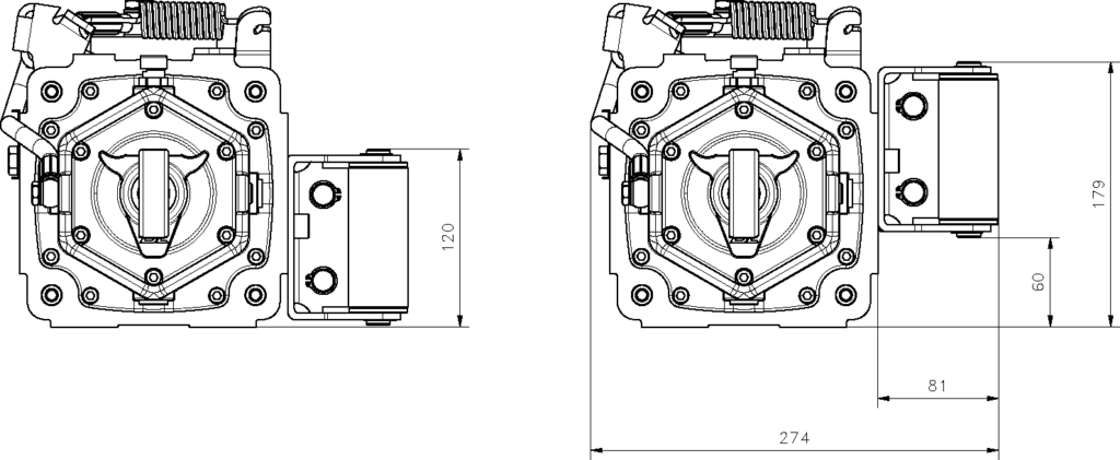 Dimensiones cabrestante BULL E40