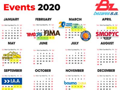 Calendario de Ferias 2020 de Bezares SA