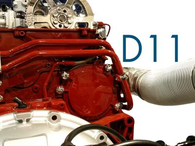 New Engine PTO for Volvo D11