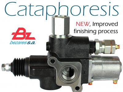 Bezares improves its finishing process with cataphoresis.