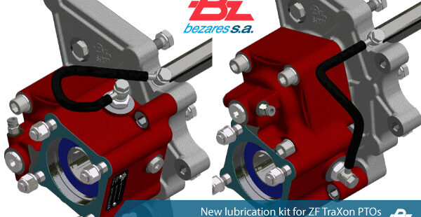 New lubrication kit for ZF TraXon PTOs