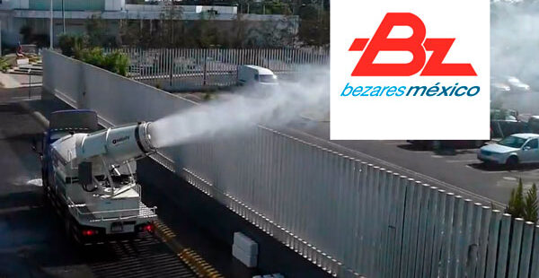 Video: Bezares 1010603 PTO working on a Sanitizing Truck in Monterrey, Mexico
