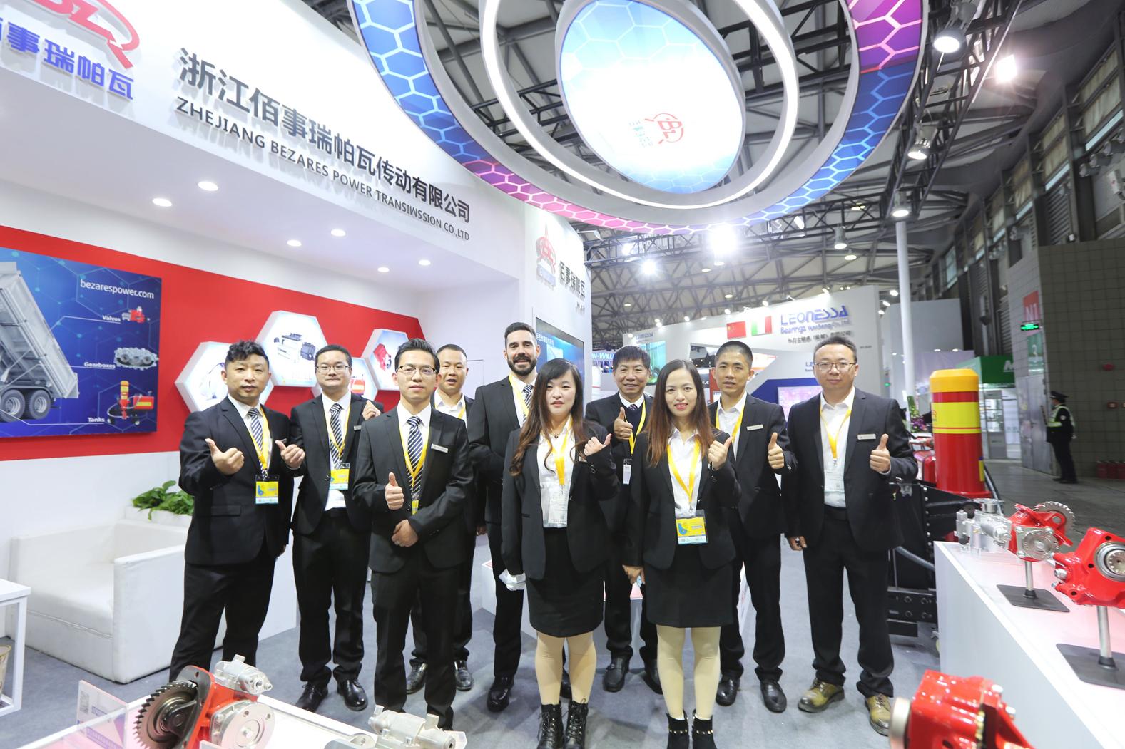 Participación de Bezares en Bauma China 2020