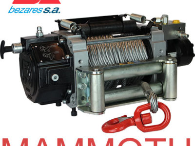 New Reinforced Mammoth Winches