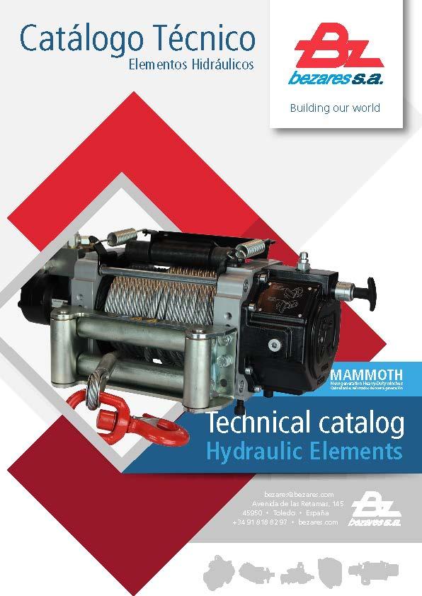 Technical hydraulic catalog - Bezares SA