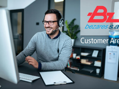 Nuevo Área de clientes en bezares.com