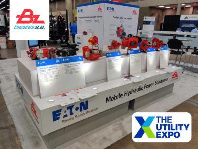 Bezares USA and Eaton @ Utility Expo 2021 in Louisville, Ky.